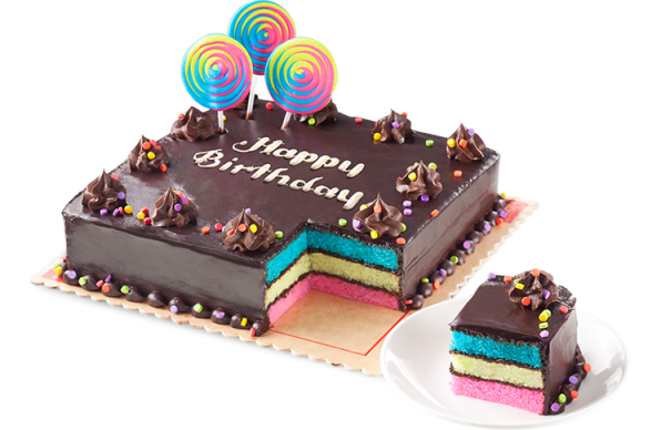Marvelous Rainbow Dedication Cake By Red Ribbon To Philippines Cake Funny Birthday Cards Online Inifofree Goldxyz