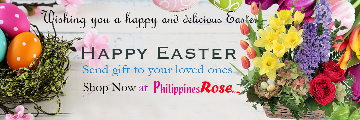 Send Easter flower & gift to Philippines