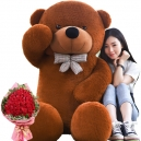 Send Giant size teddy with flower to philippines