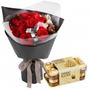 send flower with chocolate to philippines