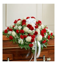 Red and White Flowers  Send to Philippines