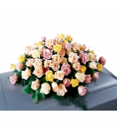 Rose Tribute Casket Spray  Send to Philippines