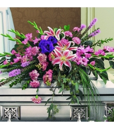 lilies, Snap dragons,Gladioli & Greenery  Send to Philippines