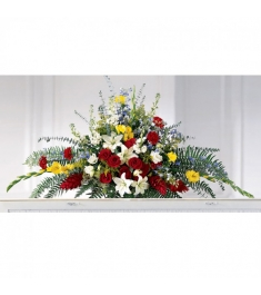 lilies,Roses,Freesias,Fresh Seasonal blooms and lush Greenery  Send to Philippines