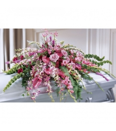 Roses,Lilies,Orchids,liatris and Greenery  Send to Philippines