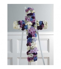 Sympathy Funeral Cross  Send to Philippines