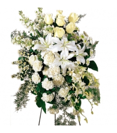 Lovely Tribute Funeral Flowers  Send to Philippines