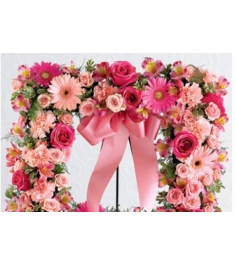 Square Shaped Funaral Wreath  Send to Philippines