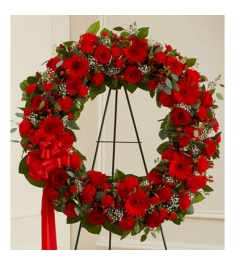 Classic Red Wreath  Send to Philippines