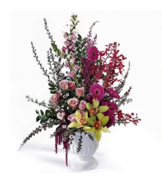 Orchids,Snap dragons,lilies,Roses,Gerbera Flowers  Send to Philippines