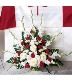 Patriotic Tribute Arrangement  Send to Philippines