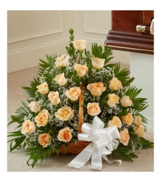 Pretty and Peachy Arrangement  Send to Philippines