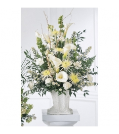Chrysanthemums,Carnations & Lilies Arrangement  Send to Philippines
