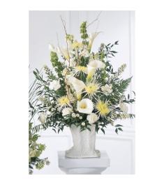Chrysanthemums,Carnations & Lilies Arrangement  Send to Philippines
