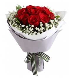 Send one dozen roses with seasonal flowers to philippines