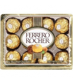 12pcs Ferrero Rocher Send to Manila Philippines
