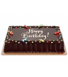 Send Chocolate Dedication Cake 8x12 (Regular) to Philippines