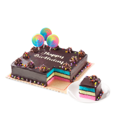 Rainbow Dedication Cake By Red Ribbon