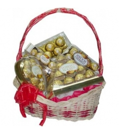 Ferrero Lover Basket Send to Manila Philippines