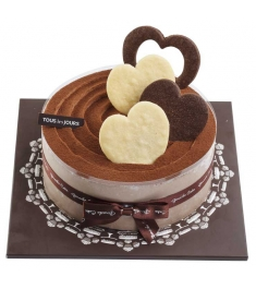 Send Chocolate Powder Cake by Tous les Jours to Philippines