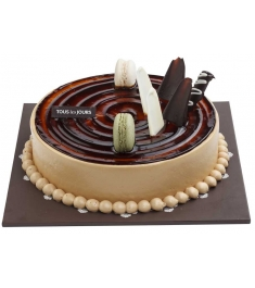 Send Mocha Crunch Cake by Tous les Jours to Philippines