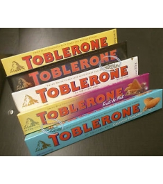 Toblerone 5 Varieties Online Order to Philippines