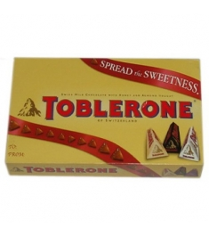 Toblerone Three Varieties in a Gift Box 3 x 50g Online Order to Philippines