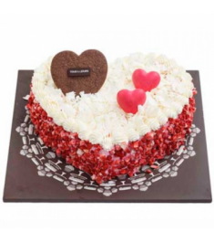 Send Strawberry Heart Cake By Tous les Jours to Philippines