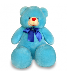 Blue color teddy bear to Philippines