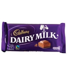 Cadbury Dairy Milk Chocolate Bar 1pc Online Order to Philippines