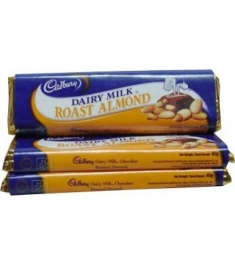 Cadbury Dairy Milk Roast Almonds 3Bars 45g Online Order to Philippines