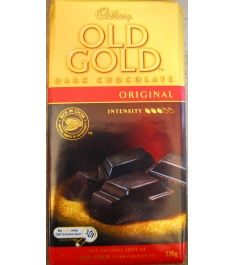 Cadbury Old Gold Dark Chocolate w/ Roast Almond 200g Online Order to Philippines