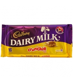 Cadbury Dairy Milk with Crunchie 190g Online Order to Philippines