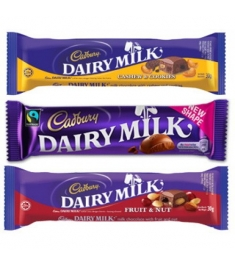 3 Assorted Mini Bars 30g each Online Order to Manila Philippines