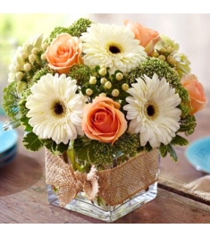 Modern Rose and Gerbera Daisy Bouquet philippines