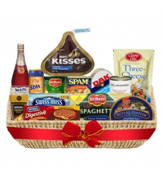 Christmas Feast Deluxe Grocery Basket to Philippines