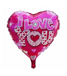heart shaped mylar balloon to philippines