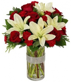 rose carnations and lilies to philippines