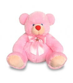 Small pink teddy bear to Philippines