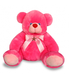 deep pink color teddy bear to Philippines