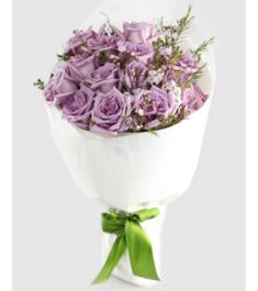 12 Purple Ecuadorian Roses to Philippines