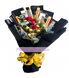 buy mix chocolates and flowers in philippines