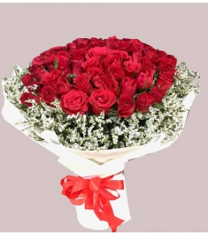 Send Ecuadorian 24 Red Rose Box  to Pnilippines