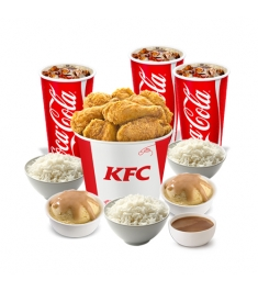 6-pc Streetwise Bucket Meal by KFC
