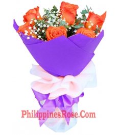 online 6 orange roses in philippines