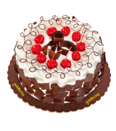 Black Forest Cake By Goldilocks Cake