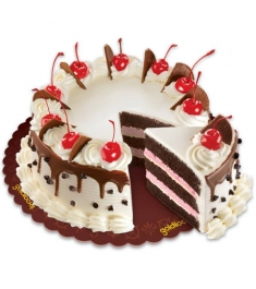 Chocolate Cherry Torte By Goldilocks Cake