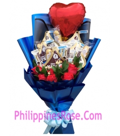 blue roses bouquet deliver in manila