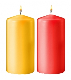 Colorful Medium Size Candles