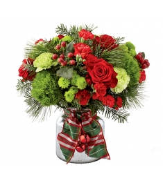 Jingle Bells Red Bouquet